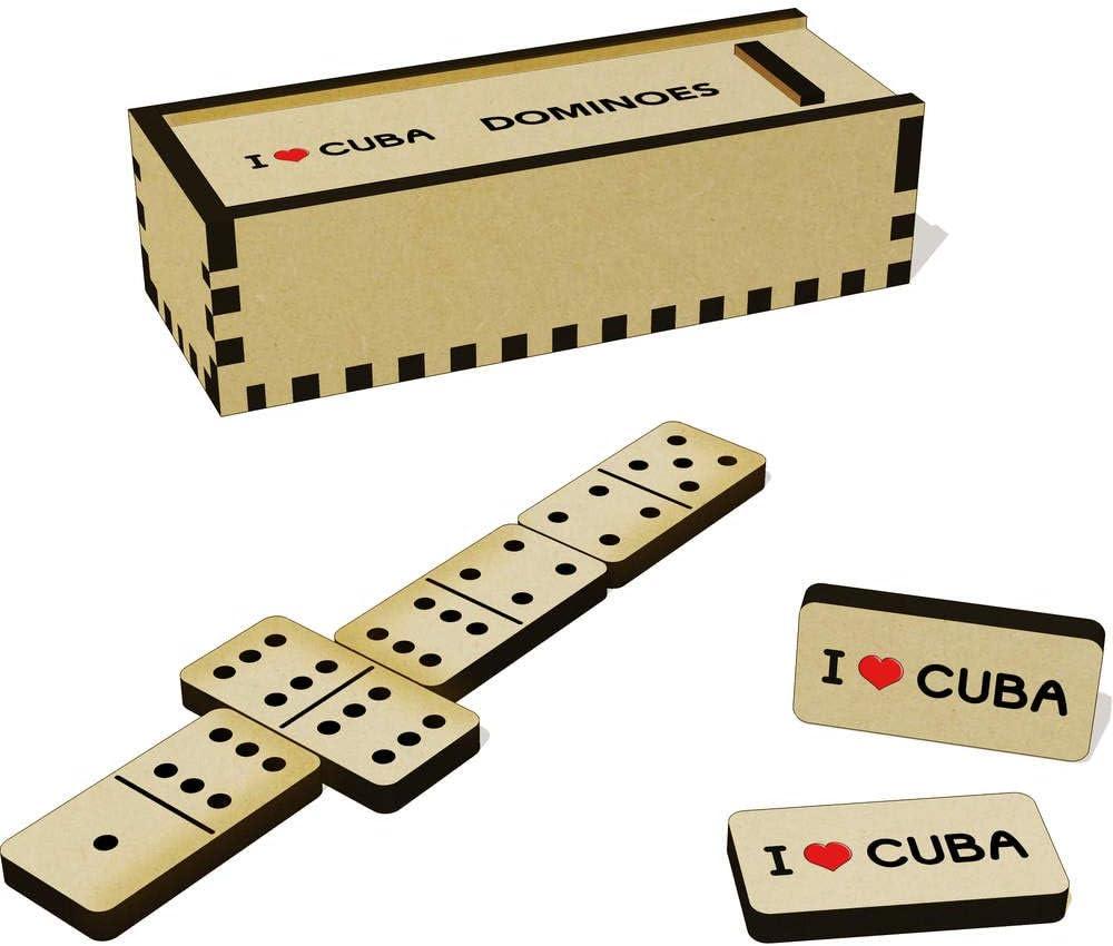 Stamp Press I Love Cuba Domino Juego y Caja (DM00000208): Amazon.es: Juguetes y juegos