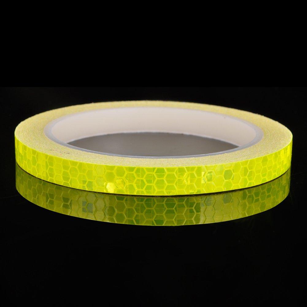 SueSupply Reflektorband Klebeband Selbstklebende Sicherheit Warnklebeband Conspicuity
