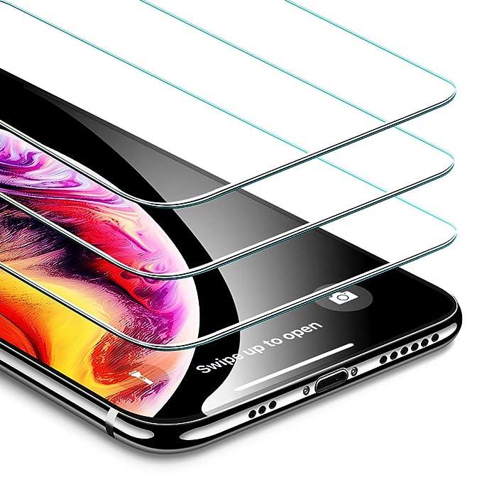 126 opinioni per ESR Pellicola iPhone XS/X [3 Packs][Cornice per Installazione facilitata],