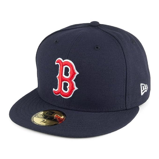 Gorra de béisbol 59FIFTY Boston Red Sox de New Era - On Field  Amazon.es   Ropa y accesorios 621b274d2fa