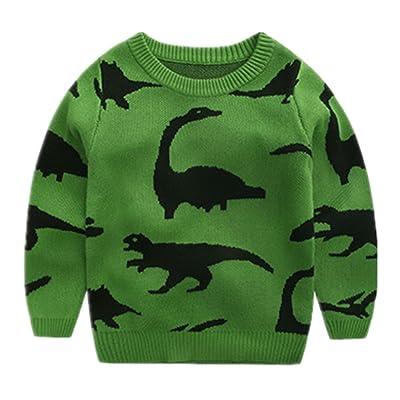 Motteecity Little Boys Sweater Winter Cartoon