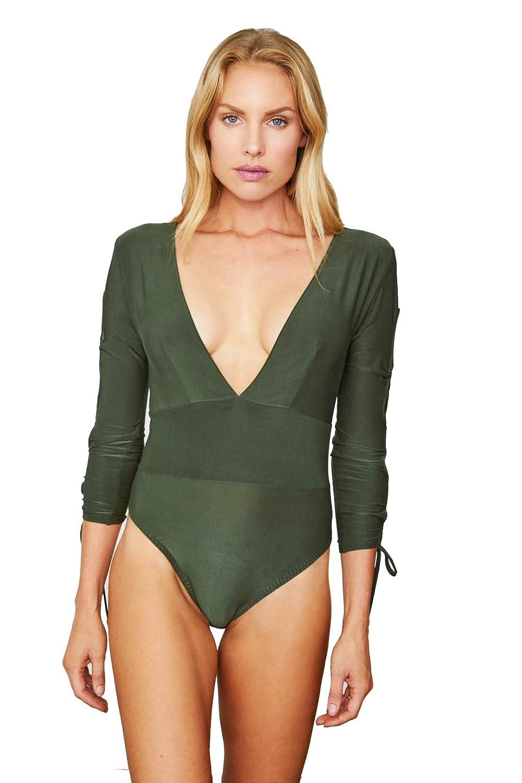 Graphite Green HAH Naughty Noosha Reversible Bodysuit