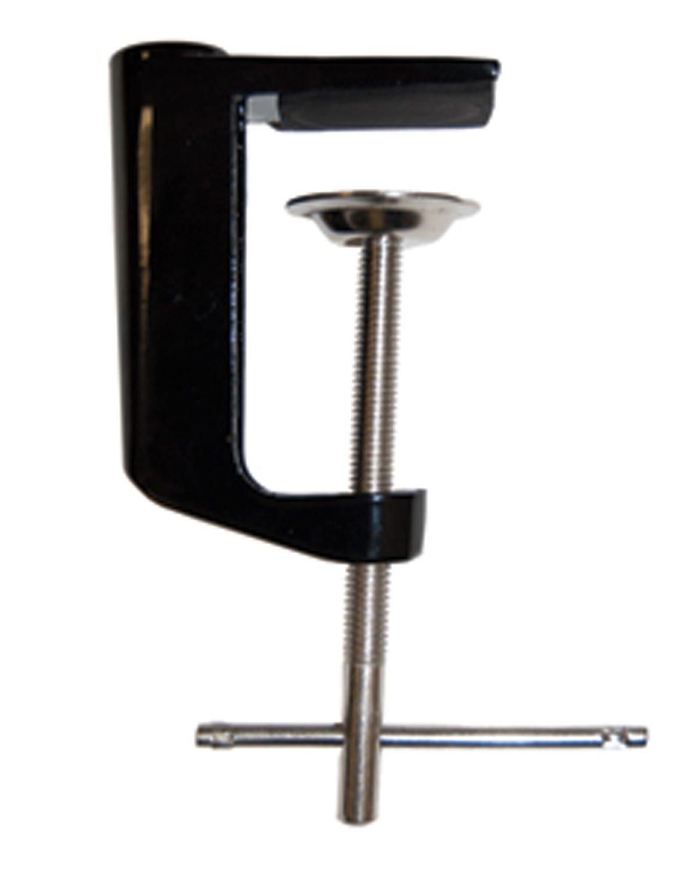 Offex Adjustable Metal Arm Clamp for Desk Lamp - Black