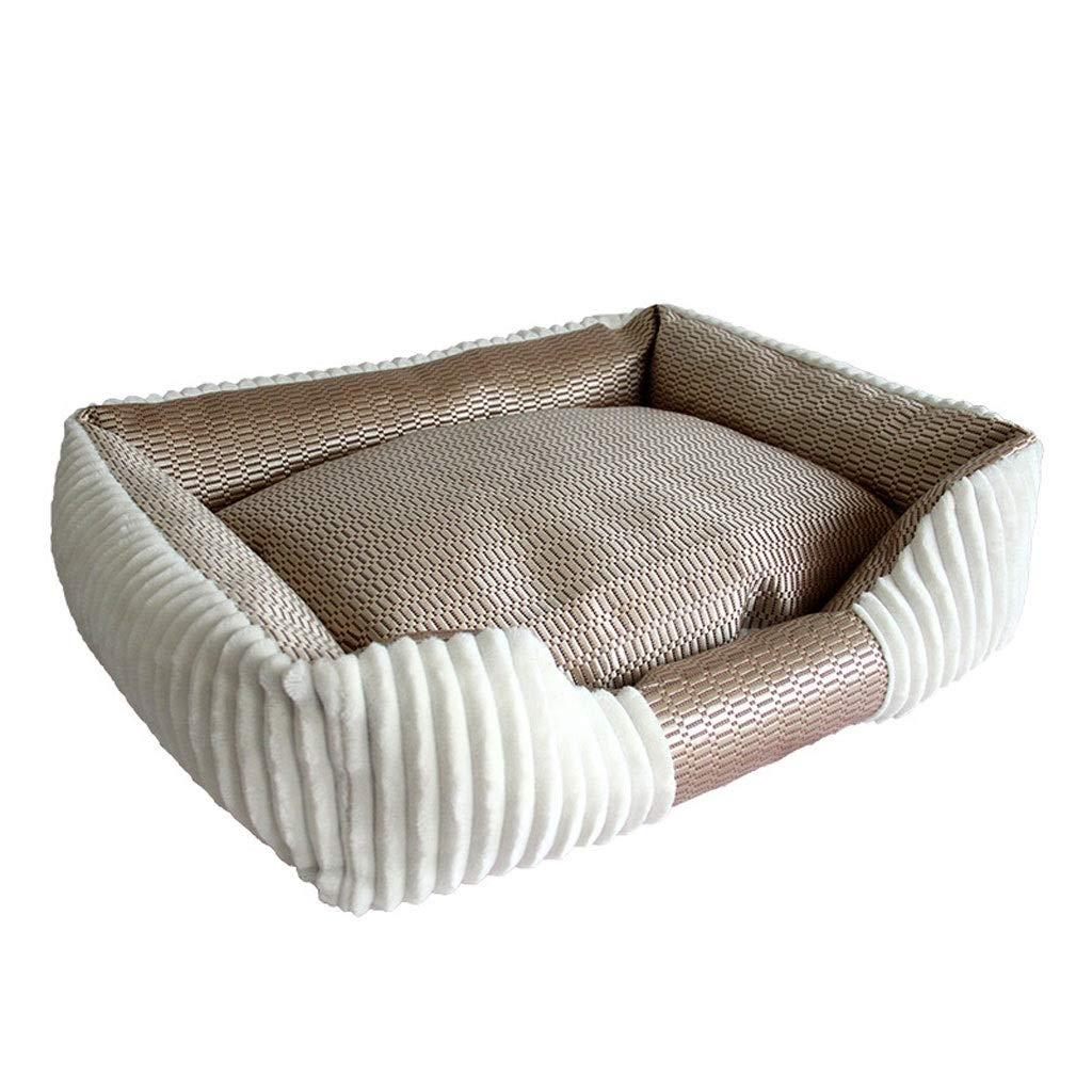 A 403535cm A 403535cm Barry-L Dog Bed Cat Bed Round or Oval Shape Dimple Fleece Nesting Dog Cave Bed Pet Cat Bed for Cats and Small Dogs Pet Bed (color   A, Size   40  35  35cm)