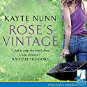 Rose's Vintage Audiobook by Kayte Nunn Narrated by Karen Cass