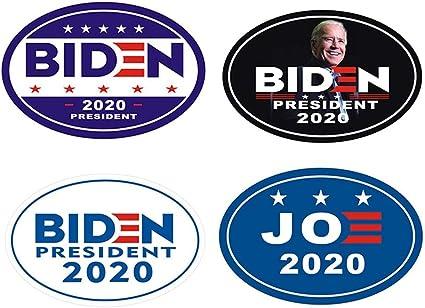 """Joe Biden For President 2020 VINYL Bumper Sticker 6/"""" 2 PACK"""