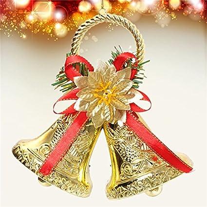 Amazon.com: Gordan Christmas Tree Bell Decor, Christmas Bowknot Double Bell  Xmas Tree Ornament Pendant Door Hanging Decoration: Home & Kitchen - Amazon.com: Gordan Christmas Tree Bell Decor, Christmas Bowknot