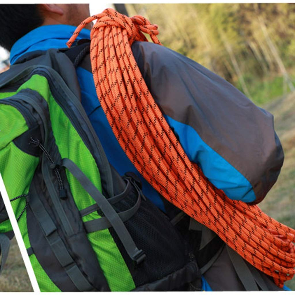 LYM-Rope Kletterseil, 10,5 Mm Durchmesser Outdoor Sicherheit Fels Baum Baum Baum Klettern Abseilen Wandern Rettungsseil Hilfskabel (größe   10m) B07NVPDPTM Bergseile Bestellungen sind willkommen 75f56c