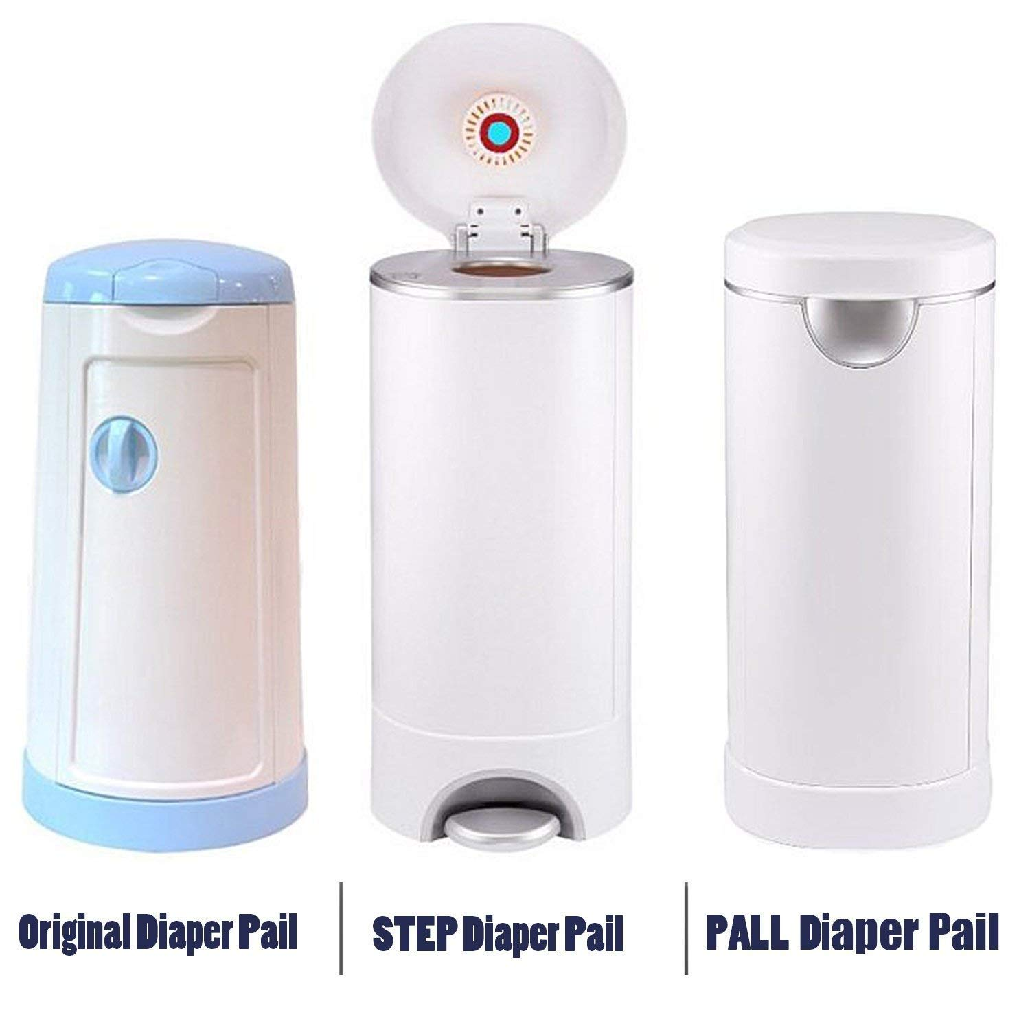 Diaper Pail Refill Bags Compatible with Arm&Hammer Disposal System- 960 Counts, 32 Bags by GoodCare