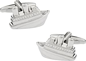 Cuff-Daddy Cruise Ship Cufflinks in Presentation Box