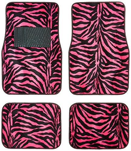 hot pink car mats - 4