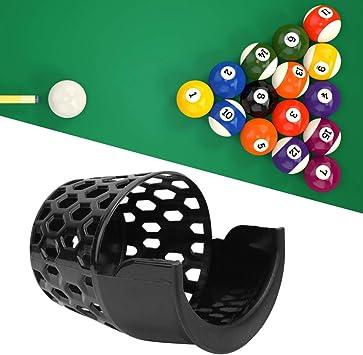 Ruiqas 6Pcs Cesta de Billar de Plástico Práctica Snooker Basket Entretenimiento en El Hogar Bola de Billar Bolsillo de Almacenamiento Accesorios de Mesa de Billar (16Cm): Amazon.es: Deportes y aire libre