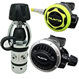 Palantic SCR-01-YOKE-AJ-OC Scuba Diving Dive AS101 Yoke Adjustable Regulator and Octopus Combo