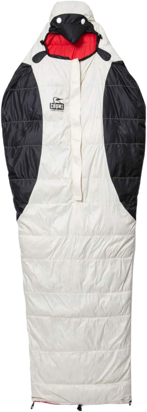チャムス(CHUMS) 寝袋 ブービースリーピングバッグ CH09-1143-Z051-00 ブラック/ホワイト 約H220×W80cm