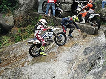 SLING FAST Accessorio consigliato per KTM EXC. NA Cinghia per le forcelle veloce e autoavvolgente per moto enduro