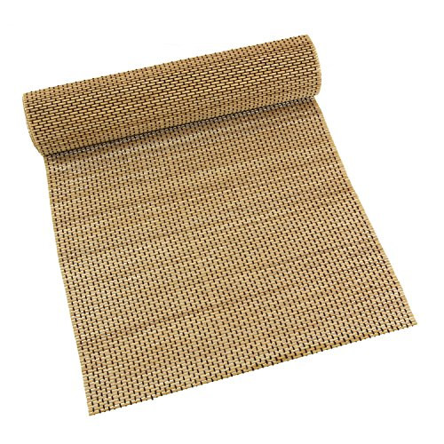 1x - BambooMN Brand String Bamboo Slat Table