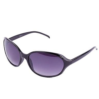 Lunettes De Soleil Ovales Style Rétro (Noir)  Amazon.fr  Vêtements et  accessoires 31f006050bf2