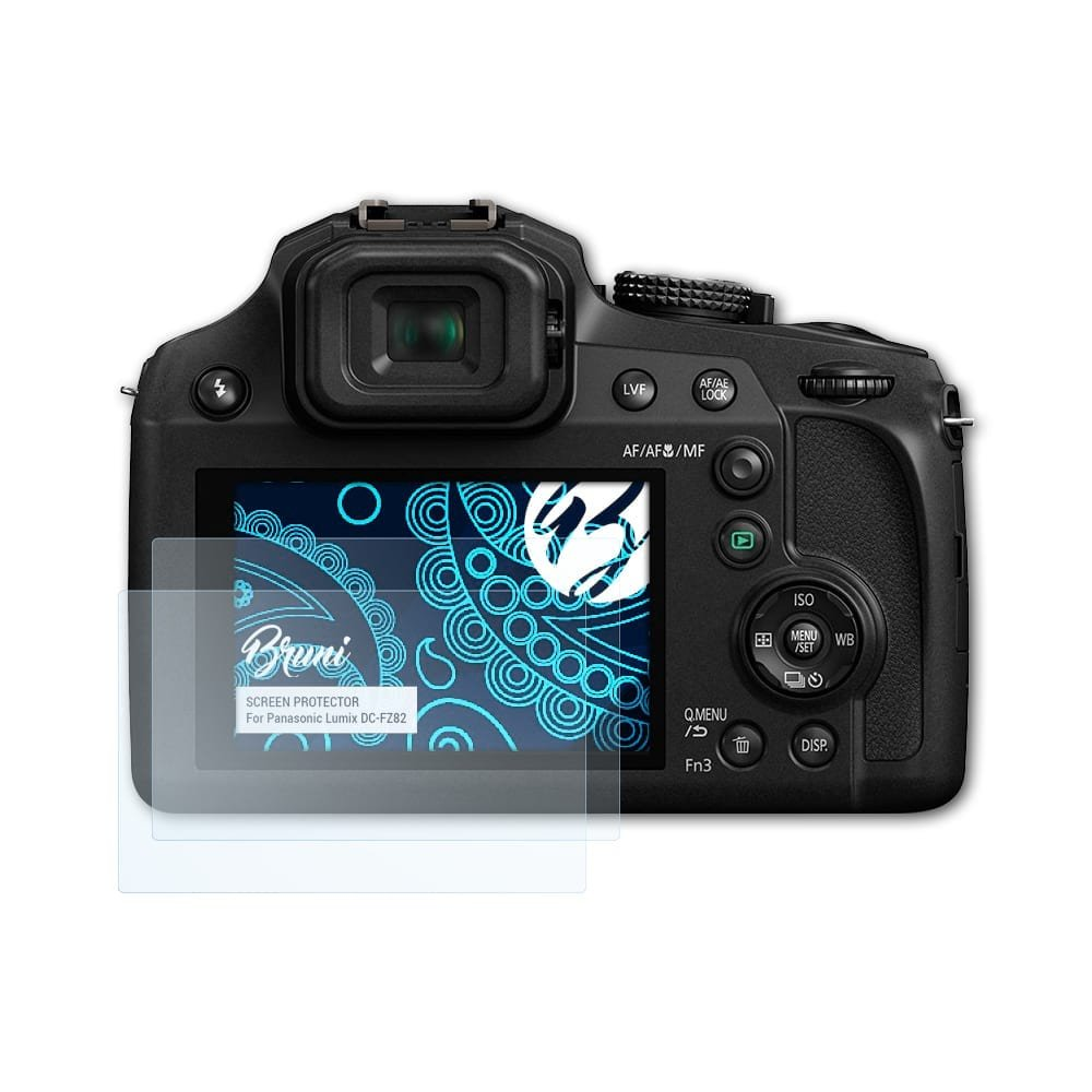 6x Displayschutzfolie Panasonic Lumix DMC-FZ72 Schutzfolie Folie Displayfolie