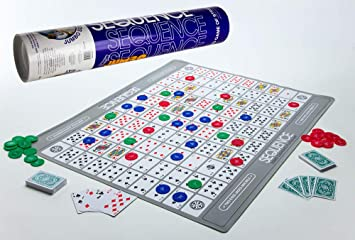 Sequence Jumbo Tube Popular Game by Jax