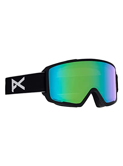 032311327cd9 Image Unavailable. Image not available for. Color  Anon M3 w Spare Goggles  Black Sonar Green ...