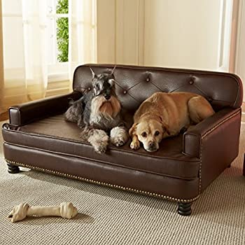 Amazon.com : Enchanted Home Pet Library Sofa, 40.5 by 30