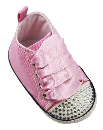 Amazon.com: Wholesale Princess Baby Girl Bling Pink High Top ...