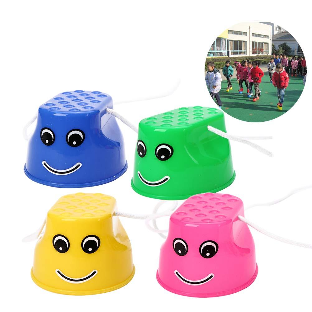 YeahiBaby /Échasses Jouets Sports Capacit/é D/équilibre D/éveloppement Formation pour Les Enfants 4PCS