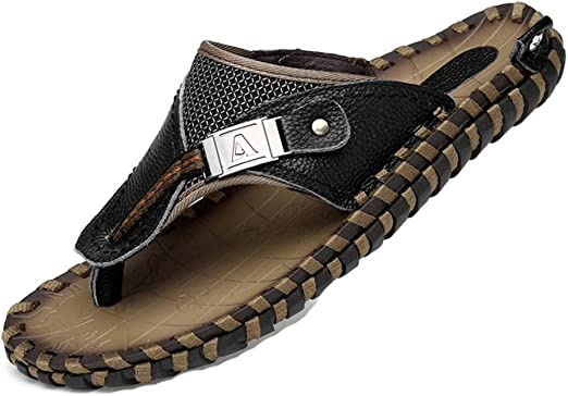 Summer S als Men Breathable Genuine Leather S als Flats Casual Beach Mens Shoes