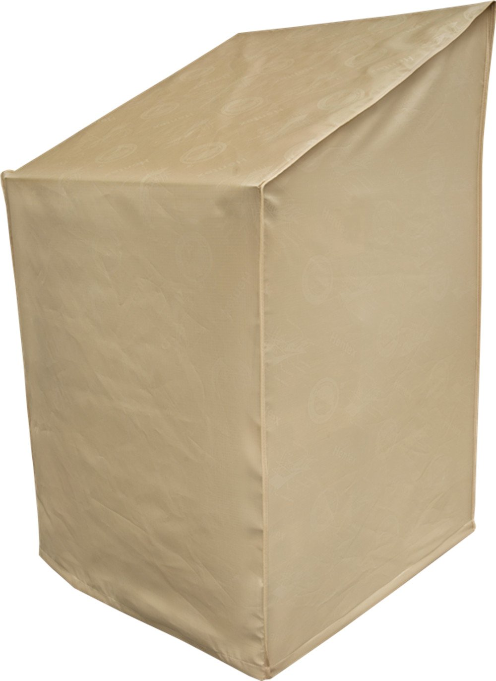 Hentex 5505 Outdoor Patio High Back Chair Cover, Breathable 3 Layer Eco Durable Waterproof, Velvet Liner Tight Fit by 2 Stopper Drawstring & Leg Buckles,33'' L×28'' W×3''/25.6'' H,Khaki