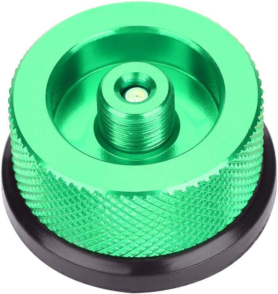 Outdoor Stove Conversion Head Convert Burners Adaptor Input Screw Type Converter Connector Valve Gas Tank Adapter Green