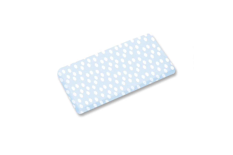 Baby Boum Milky 61 - Sabana bajera para moises, diseño Jersey, 40/90 cm, color azul 130MILKY61JP