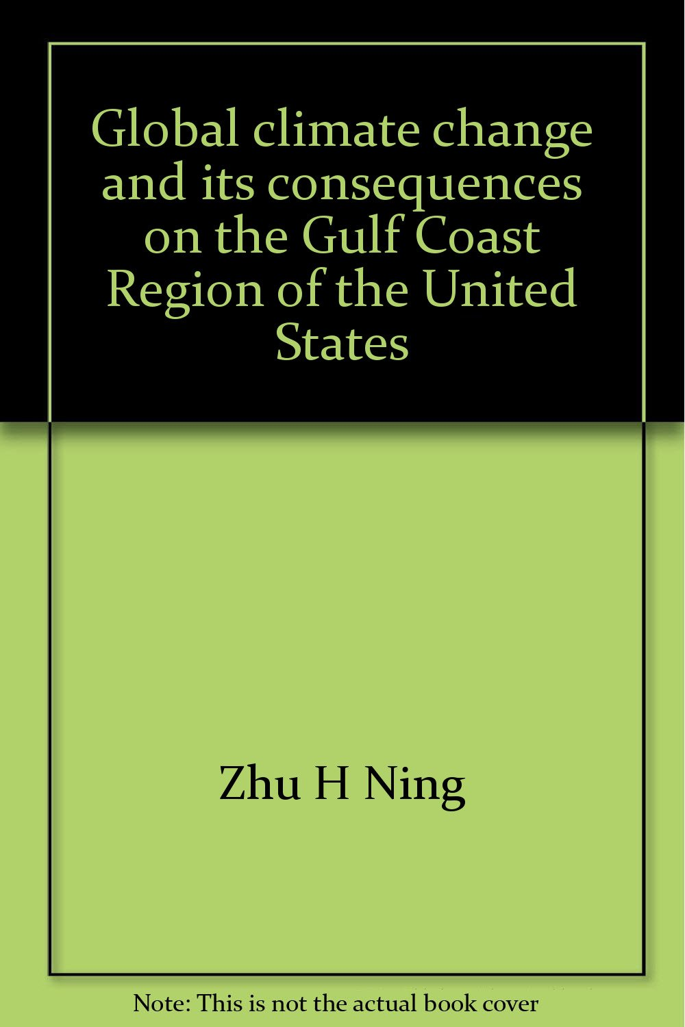 42cd361ed746 Global climate change and its consequences on the Gulf Coast Region ...