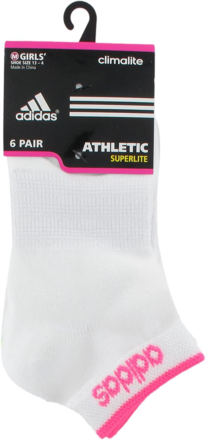 Boys//Girls Superlite Low Cut Socks 6-Pair adidas Kids