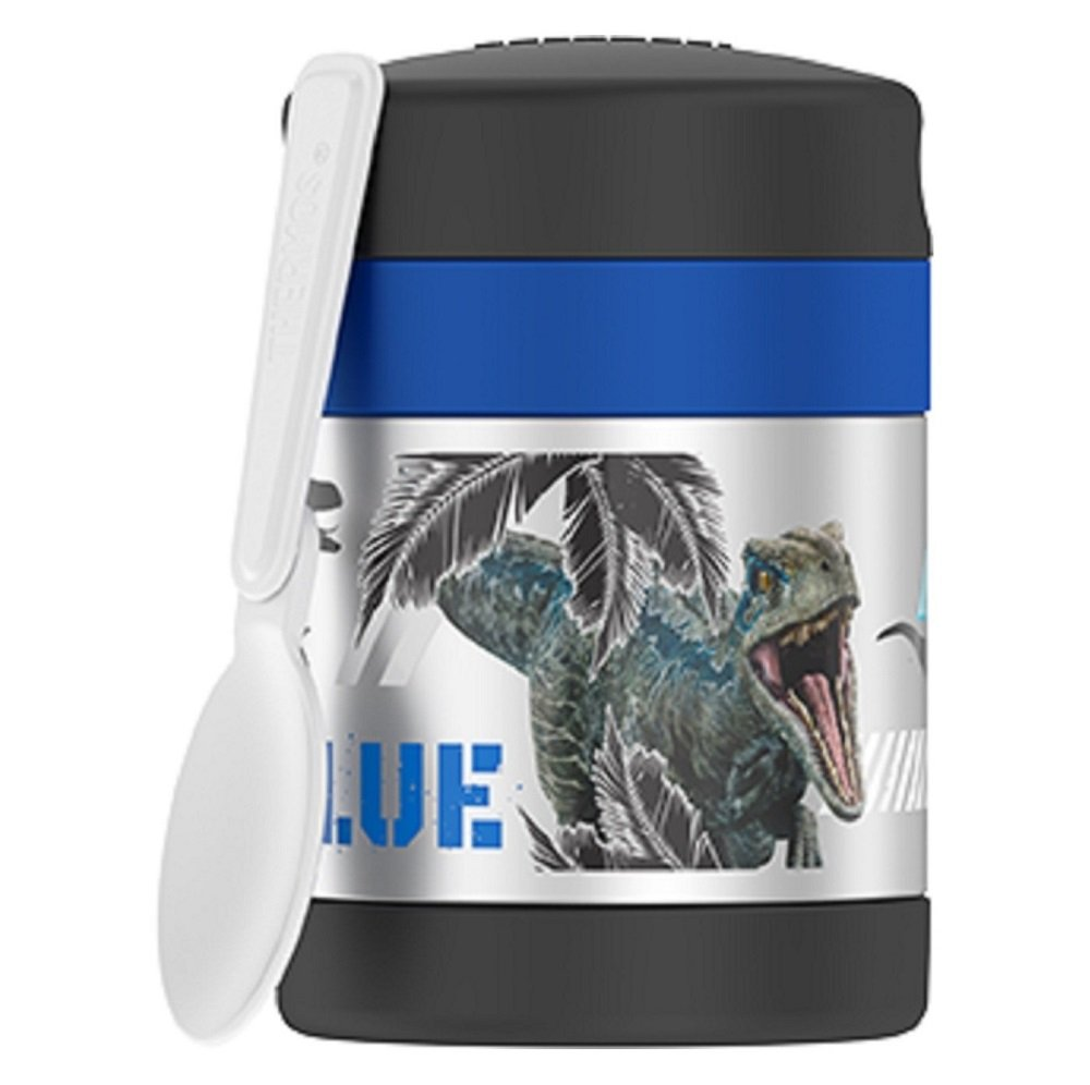 Thermos Jurassic World 10 oz Funtainer Food Jar - Black