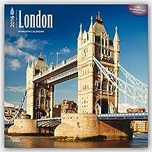 London 2016 Square 12x12 Wall Calendar