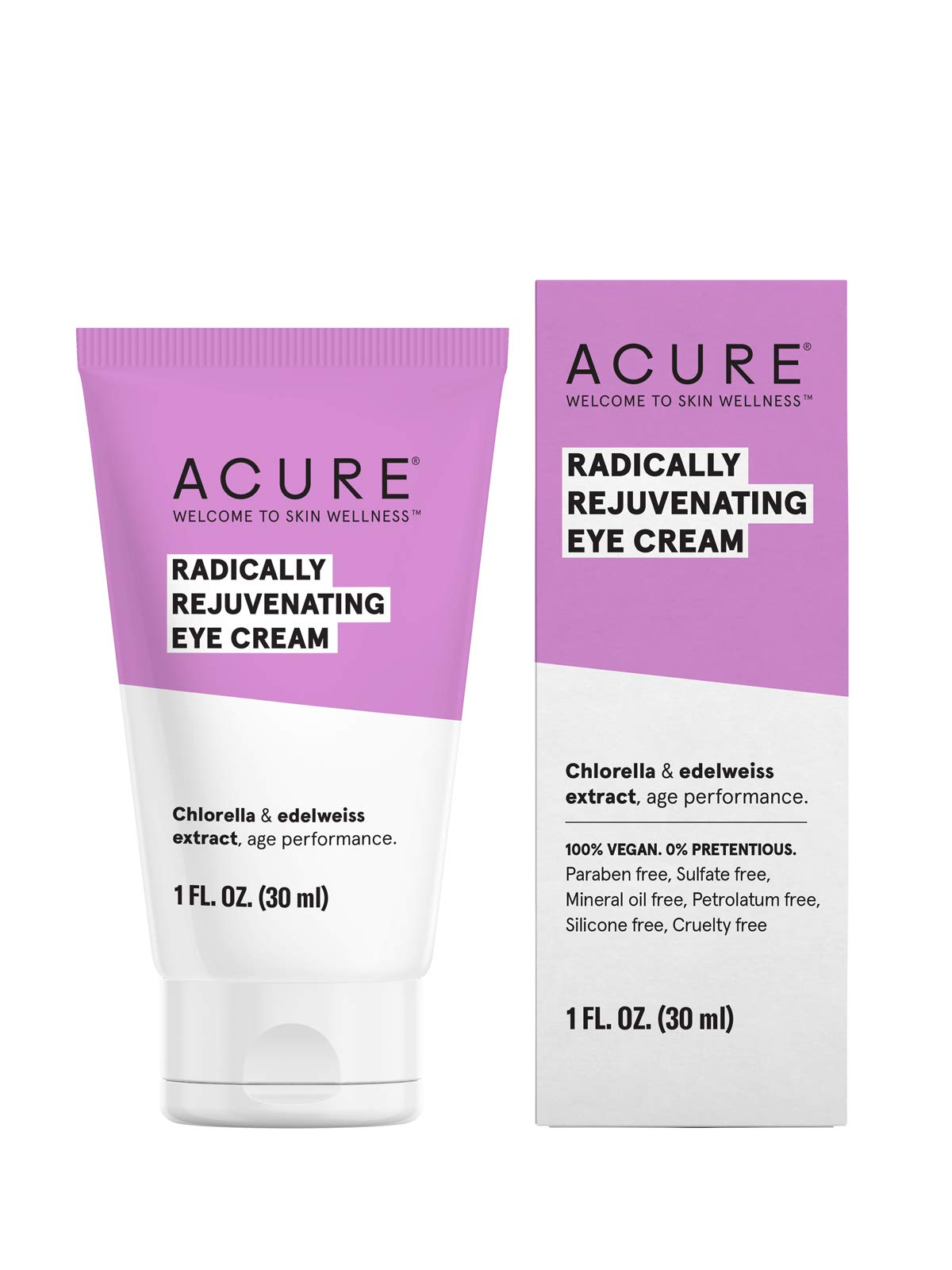 ACURE Radically Rejuvenating Eye Cream, 1 Fl. OZ. (Packaging May Vary) by Acure