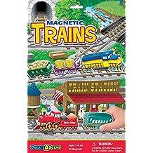 Magnetic Create-A-Scene Kit-Trains
