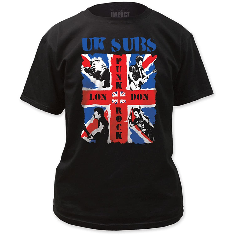 UK Subs - Mens London Punk Rock T-Shirt in Black