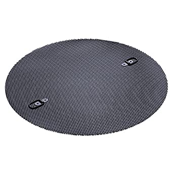 Fine Screen For New Pig Latching Drum Lid 55 Gal Open Head Lids 18 Diameter 125 Dia Mesh Opening Black DRM553 Science Lab Funnels