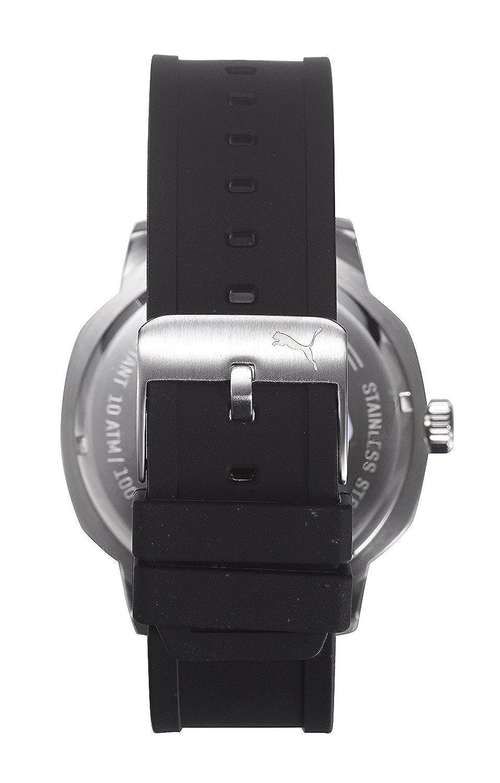 5e3dbe2f1c0 Amazon.com  Puma Nevermind Men Black Plastic watch-PU104261004  Watches