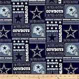 Fabric Traditions NFL Cotton Broadcloth Dallas