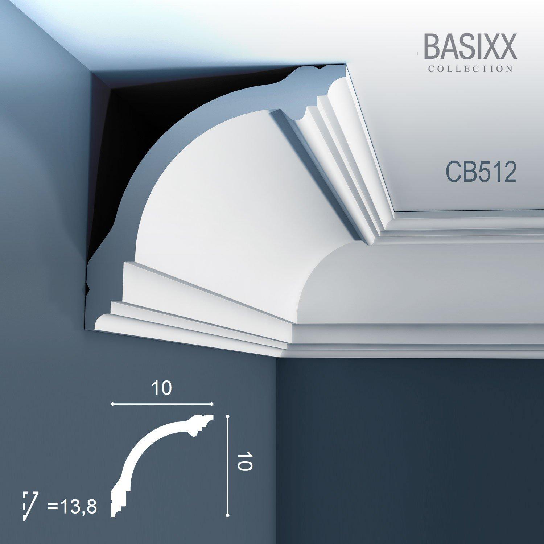 Orac Decor Cb 512 Basixx Ceiling Coving Decoration Cornice Moulding