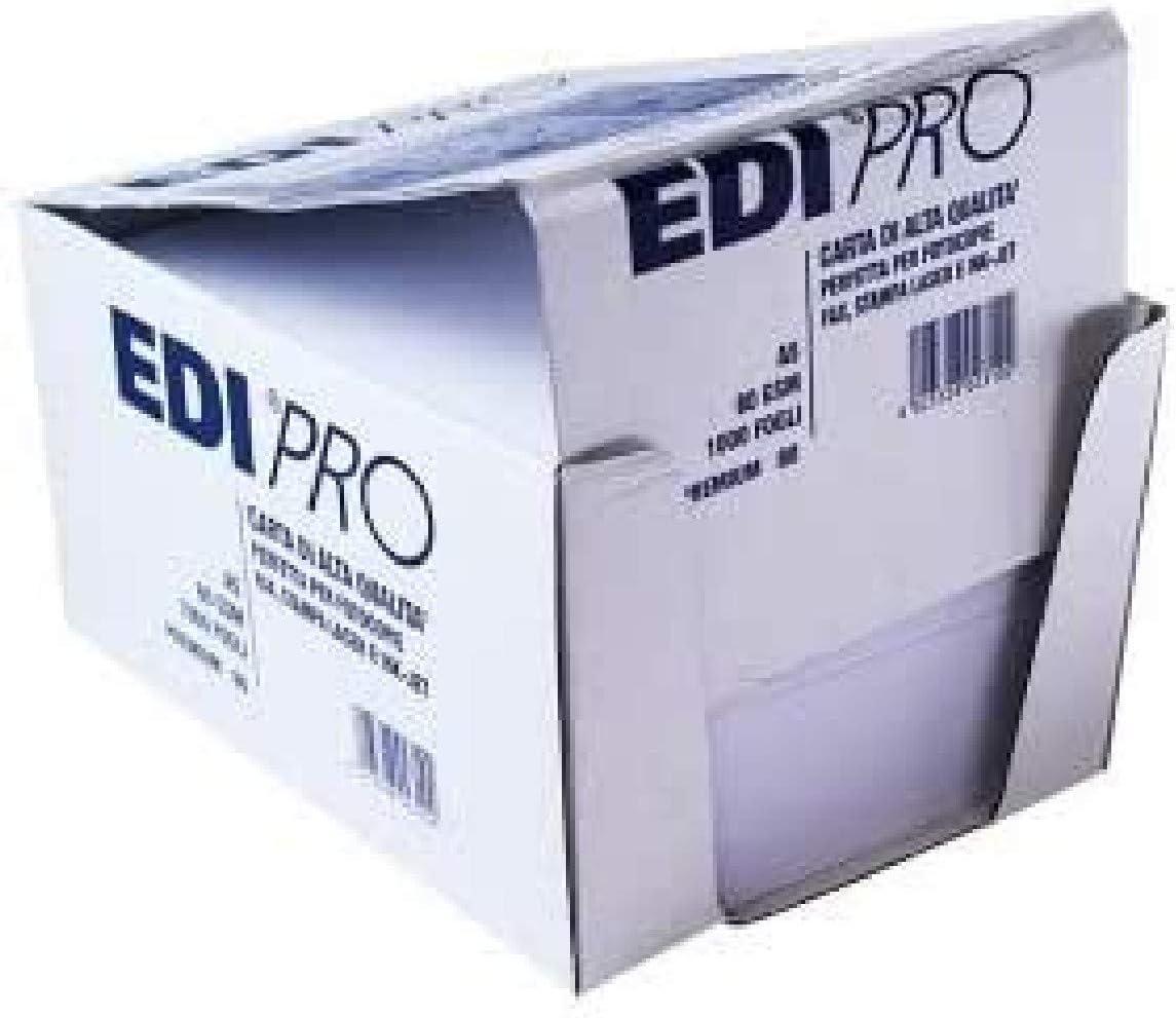 EDIPRO Premium Lot de 1000 Feuilles de Papier pour photocopies A5