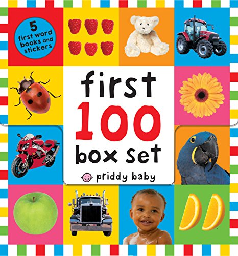 Value Book Truck - First 100 PB Box Set (5 books): First 100 Words; First 100 Animals; First 100 Trucks and Things That Go; First 100 Numbers; First 100 Colors, ABC, Numbers