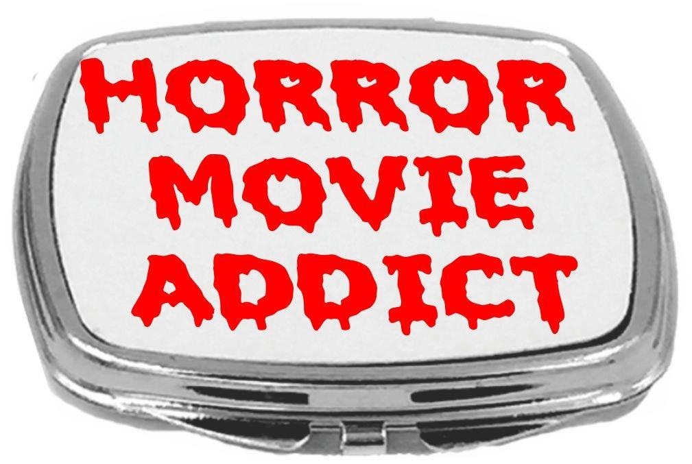 Rikki Knight Horror Movie Addict Compact Mirror