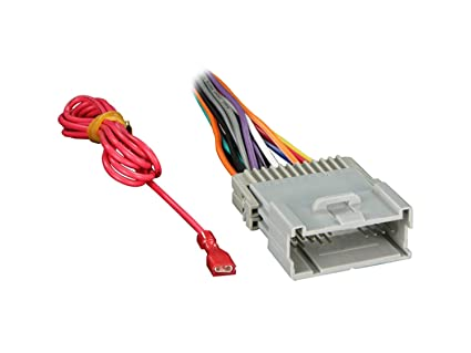amazon com metra 70 2003 radio wiring harness for gm 98 08 harness rh amazon com Universal GM Wiring Harness Engine Wiring Harness