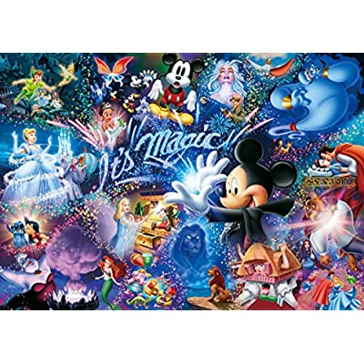 Disney Worlds Smallest 1000 Piece Its Magic Dw 1000 414 Japan Import