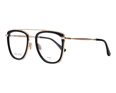 Jimmy Choo - Monture de lunettes - Femme Noir 807 52  Amazon.fr ... 3a478449193e