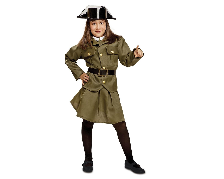 My Other Me Me - Disfraz de Guardia civil para mujer, talla 10-12 ...