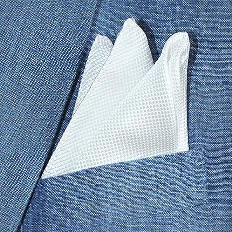 superb elegant special occasion present Pure silk luxury light cream jacquard weave pocket square